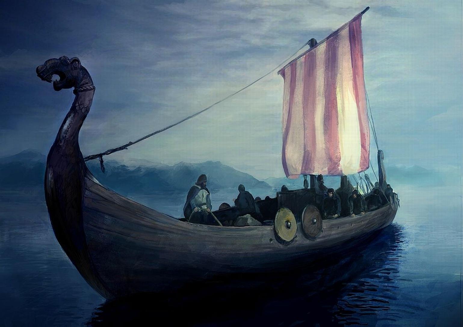 Resultado de imagem para barcos vikings wallpapers
