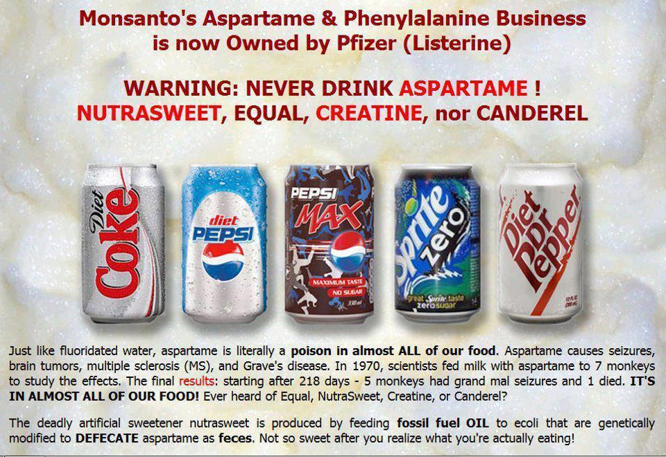 Resultado de imagem para alimentos que contem aspartame