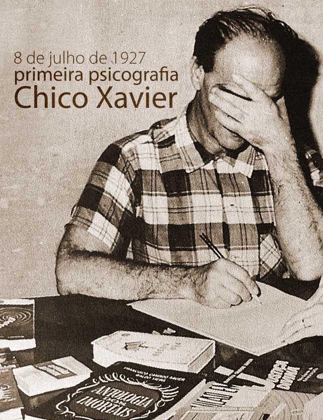 Primeira Psicografia De Chico Xavier